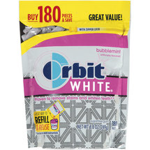 Orbit White Bubblemint Sugarfree Gum Refill