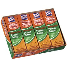 Toast Chee Reduced Fat Peanut Butter Crackers