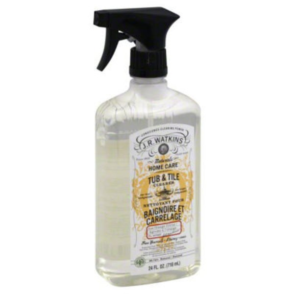 J.R. Watkins Naturals Home Care Tub & Tile Cleaner Orange Citrus