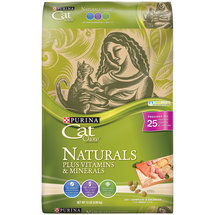 Cat Chow Naturals Plus Vitamin & Minerals Cat Food