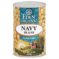 Eden Organic Navy Beans, No Salt Added