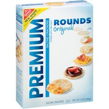 Nabisco Premium Rounds Original Saltine Crackers