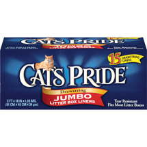 Cat's Pride Drawstring Jumbo Litter Box Liners