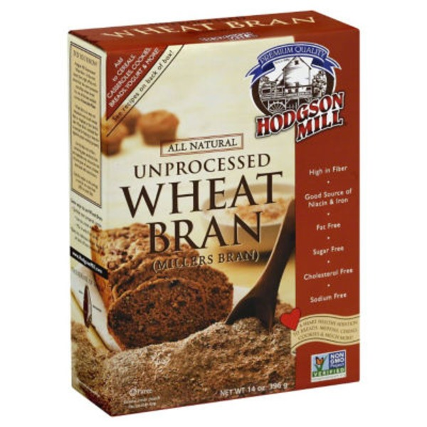 Hodgson Mill Unprocessed Wheat Bran