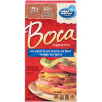 Boca All American Flame Grilled Veggie Burgers