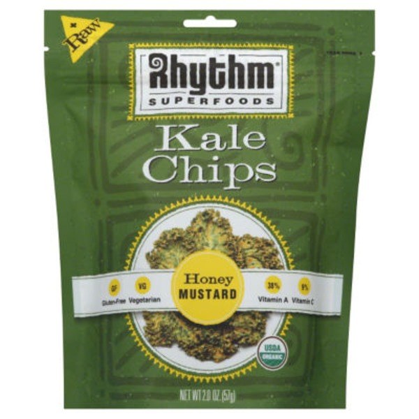 Rhythm Superfoods Kale Chips Honey Mustard
