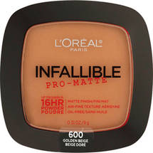 L'Oreal Paris Infallible Pro-Matte Powder 600 Golden Beige