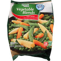 Great Value Baby Blend Vegetables