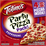 Totino's Pepperoni Party Pizza Pack!