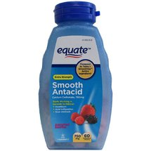 Equate Assorted Berries Smooth Antacid Tablets