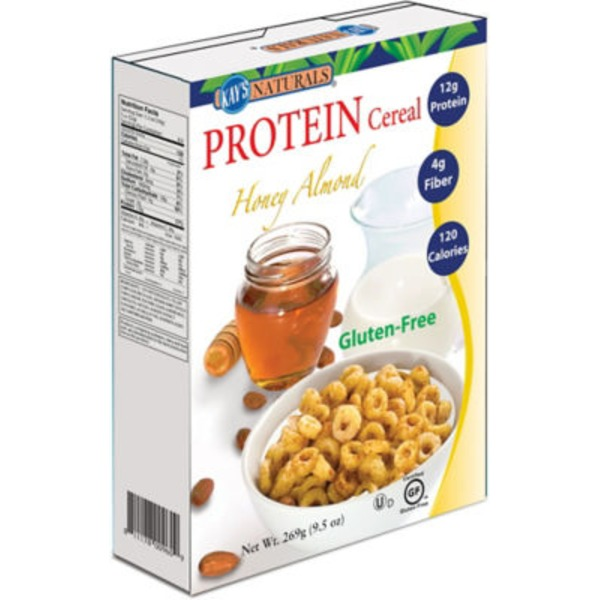 Kays Naturals Honey Almond Protein Cereal