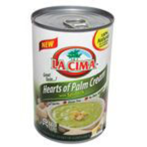 La Cima Spinach Hearts Of Palm Cream Soup