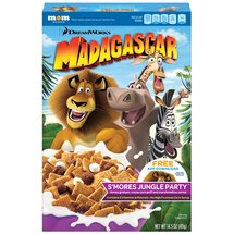 DreamWorks Madagascar Smores Jungle Party Cereal