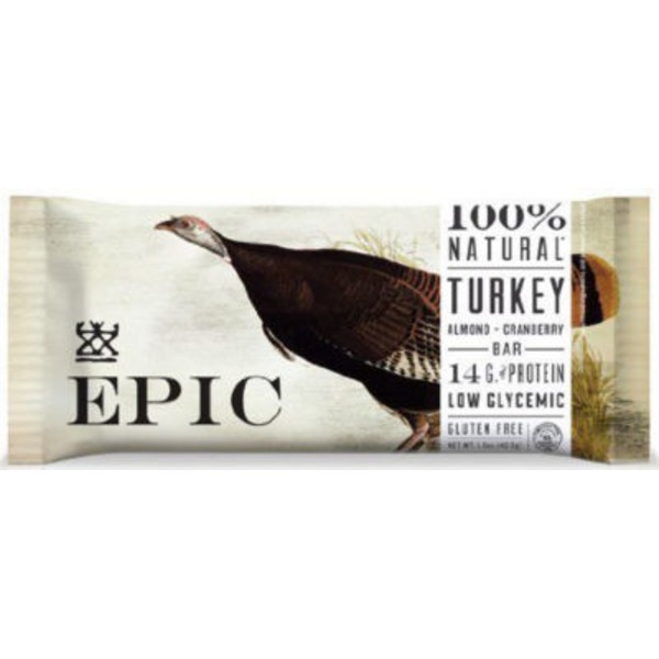 Epic Turkey Bar, Almond + Cranberry
