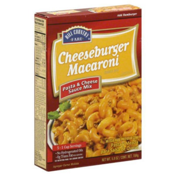 Hill Country Farm Cheeseburger Macaroni Dinner Mix