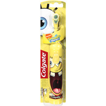 Colgate Green Sponge Bob Electric Toothbrush each