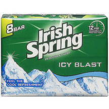 Irish Spring Icy Blast Deodorant Soap Bar