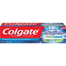 Colgate Max Fresh Shockwave Electric Mint Toothpaste