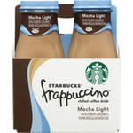 Starbucks Frappuccino Mocha Light Coffee Drink