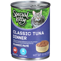 Special Kitty Tuna Dinner Cat Food
