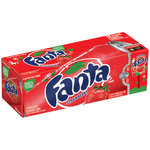 Fanta Strawberry Soda Fridge Pack