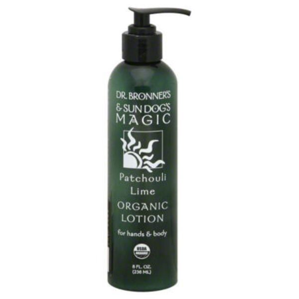Dr. Bronner's Organic  Patchouli Lime Hand & Body Lotion