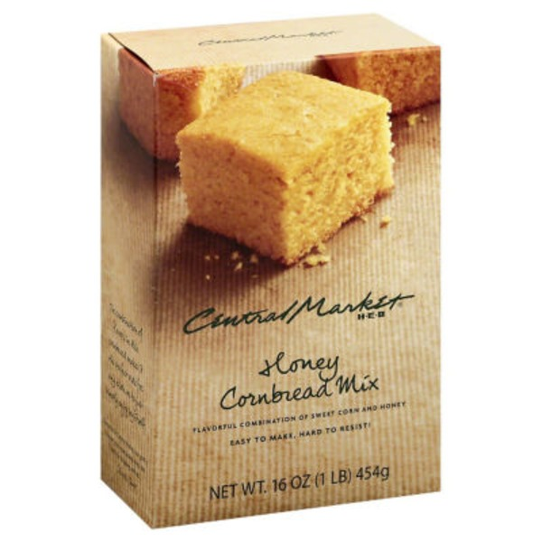 Central Market All Natural Honey Cornbread Mix