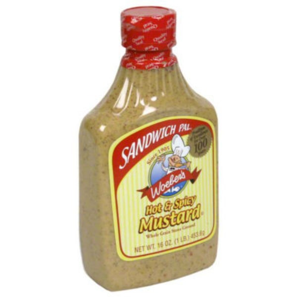 Woeber's Hot & Spicy Mustard