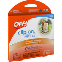 Off! Mosquito Repellent Refills For Clip On Units
