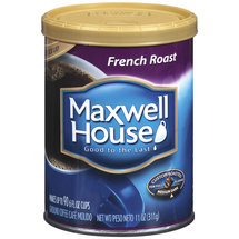 Maxwell House French Roast Medium Dark Coffee