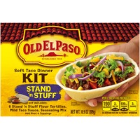 Old El Paso Stand 'n Stuff Soft Taco Dinner Kit