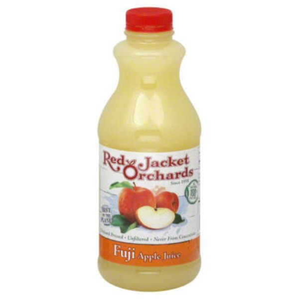 Red Jacket Orchards Cold Pressed Fuji Apple Juice