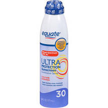 Equate Ultra Protection Sunscreen Continuous Spray SPF 30
