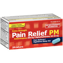 PL Developments Extra Strength PM Pain Relief 25mg Caplets