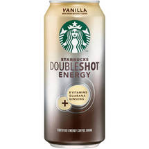 Starbucks Doubleshot Energy  + Vanilla Coffee Drink 15 Fl Oz