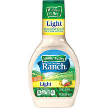 Hidden Valley Original Ranch Light Dressing 8 Fluid Ounces
