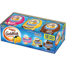 Pepperidge Farm Goldfish Grahams Baked Graham Snacks Variety Pack