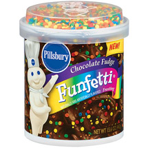 Pillsbury Funfetti Chocolate Fudge Frosting