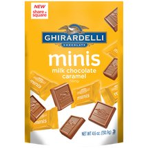 Ghirardelli Minis Milk Chocolate Caramel Candies