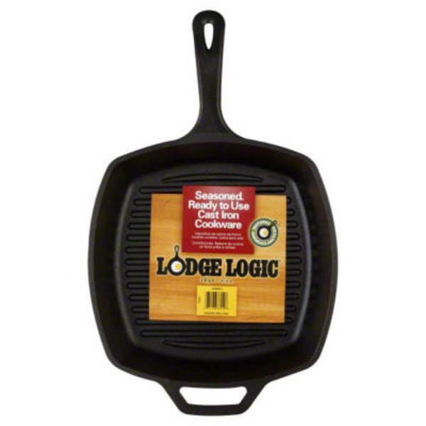 Lodge Grill Pan, Ribbed, Square