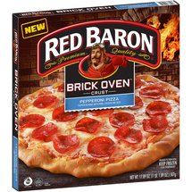 Red Baron Brick Oven Crust Pepperoni Pizza