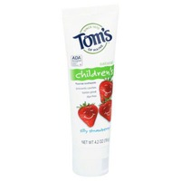 Tom's of Maine Children's Silly Strawberry Toothpaste