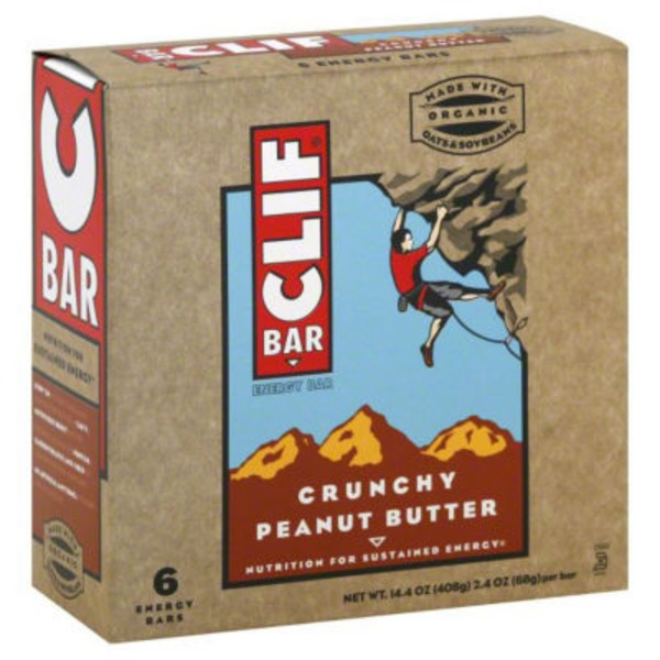 Clif Bar® Crunchy Peanut Butter Energy Bars