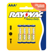 Rayovac Heavy Duty AAA Batteries