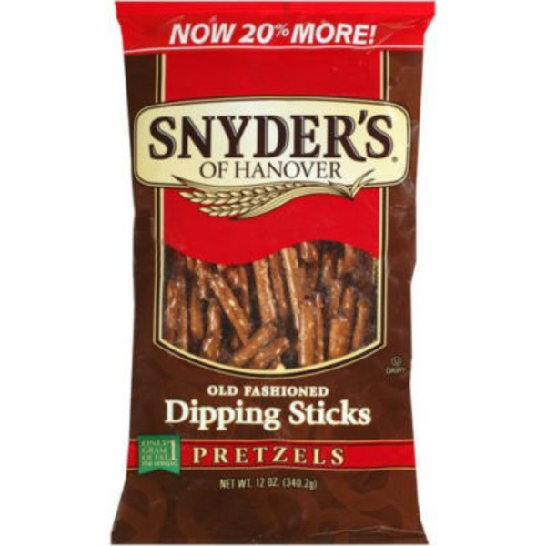 Snyder's of Hanover Old Fashioned Dipping Sticks Pretzels