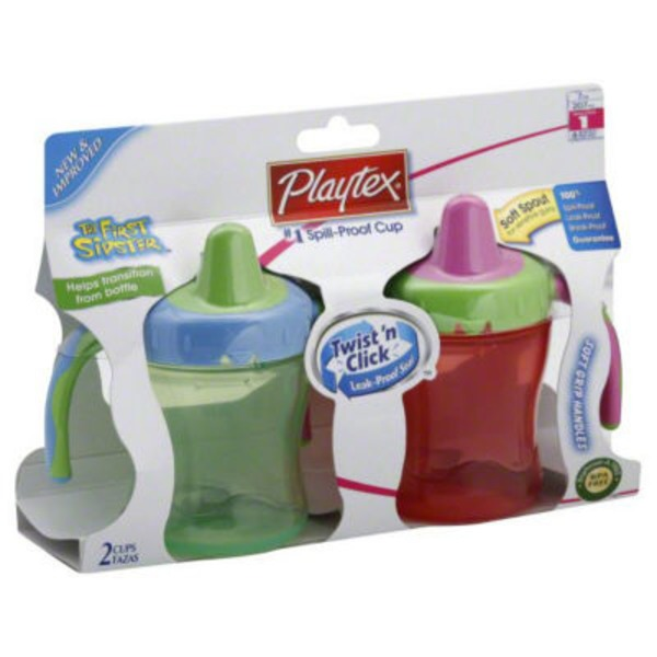 Infant Care Sipster Spill-Proof Soft Spout 6 oz. Training Cups