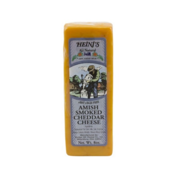 Heini's All Natural Amish Smoked Cheddar Cheese