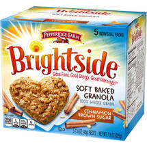 Pepperidge Farm Brightside Cinnamon Brown Sugar Soft Baked Granola Cookies