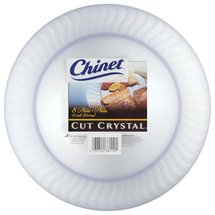 Chinet Cut Crystal Plastic Plates