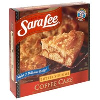 Sara Lee Coffee Cake Butter Streusel